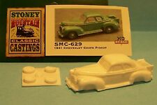 SMC-629 1941 Chevy Coupe Pickup  HO-1/87th Scale White Resin Kit (unfinished)