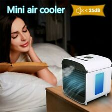 Portable Mini USB Air Conditioner Cool Cooling Fan For Bedroom Car CHILLY AIR US