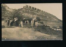 Greece SALONIQUE City wall + dwellings c1910/20s? RP PPC
