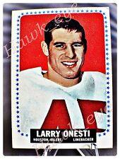 1964 Topps #81 Larry Onesti Houston Oilers Rookie EX-NM