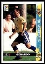 Mundicromo Las fichas de la Liga 98 99 Gerardo Villareal No. 352