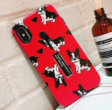 Hybrid Hard Ring Holder Stand Bull dog Pet Phone Case For iphone X 8 7 6s 6 Plus