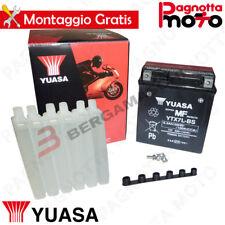 BATTERIE YUASA YTX7L-BS SUZUKI DR S 250 1994>1995