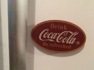 Large Vintage Coca-Cola Fridge Magnet  10 x 6 x 1 cm, Man Cave, Beer Fridge Gift