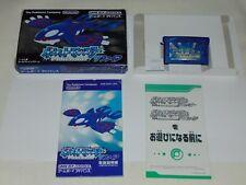 Game Boy Advance JAP Pokemon Shappire U1412
