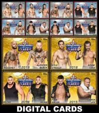 Topps SLAM WWE Dusty Rhodes Tag Team Classic Winners 12 CARD GOLD/RED/BLACK SET