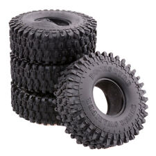 1.9' Climbing Rubber Tires Wheels T5020 4P For RC 1/10 D90 SCX10 Rock Crawler