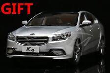 Car Model KIA K4 1:18 (Silver) + SMALL GIFT!!!!!!!!!!!