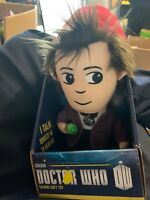 DOCTOR WHO 11TH DOCTOR TALKING PLUSH - MATT SMITH BRAND NEW GREAT GIFT SOFT TOY