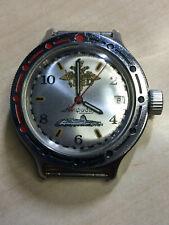 "Vintage Wristwatch Soviet Ussr Vostok Amphibian Automatic ""Komandirskie"" 200M"