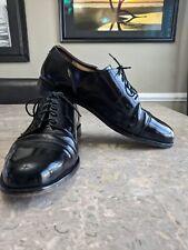 Cole Haan Black Leather Cap Toe Oxford Dress Shoes Men's Size 10 E