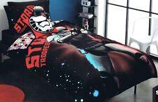 Disney Star Wars Storm Trooper Single Twin Bed Quilt Duvet Cover Set