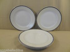 "Vintage Noritake China ""Amherst"" 4 Dinner Plates"