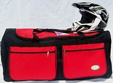 MOTORCYCLE ROLLER GEAR BAG  MOTOCROSS / SNOWMOBILE HON/RED