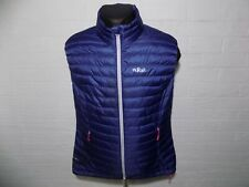 Ladies Rab Down Quilted Waistcoat Size L UK 14
