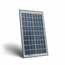 Pannello Solare Fotovoltaico 10W 12V Policristallino Impianto Camper Barca Baita