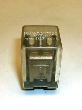 Vintage Potter & Brumfield KNP11 D21 24V DC 8 Pin Relay 1/10 HP 3 A 120 VAC