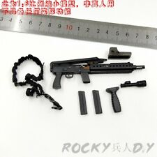 79 Submachine Gun for Flagset Fs 73024 China S.W.A.T Shandian Commandos 1/6 12''