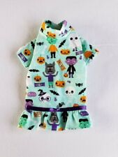 New listing Halloween Monsters Flannel Nightgown Pajamas Dog Puppy Pet Clothes Xxxs - Large