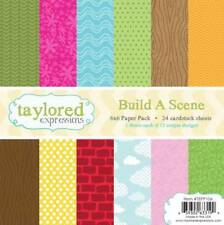 TAYLORED EXPRESSIONS  6X6 PAPER PACK - BUILD A SCENE TEPP106