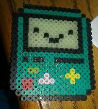 perler bead creation handmade ADVENTURE TIME BMO game boy thing