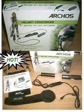 ARCHOS HELMET CAM CAMCORDER helmet CAMERA BULLET HEAD cam+Travel Adapter