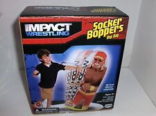 Hulk Hogan.36 Inches Tall Inflatable Socker-Punching Bag,Ages 3+>New->Free 2 US