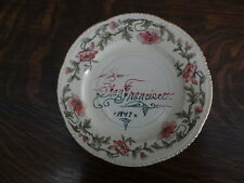 Vintage Homer Laughlin San Francisco Commemorative Souvenir Etched Plate 1947
