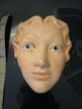 VINTAGE 1950s MANNEQUIN ADVERTISING DISPLAY FACE