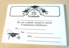 25 Graduation Open House Invitation Open House Cards Ivory Stock