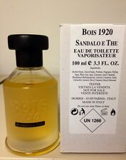 Bois 1920 SANDALO E THE  3.4 oz / 100 ml Unisex Eau De Toilette Sp NEW UNBOXED