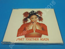 "5"" single CD Janet Jackson-together Again (j-230) 6 tracks Holland 1997"