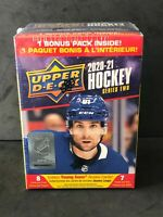2020-21 Upper Deck Series 2 Hockey Factory Sealed Blaster Box - Young Guns RC's