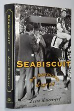 SEABISCUIT by Laura Hillenbrand First Edition HC Author's First Book