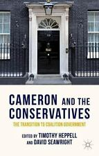 CAMERON AND THE CONSERVATIVES - NEW PAPERBACK BOOK