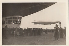 N°178 R 100 England tours Angleterre ZEPPELIN Dirigible AIRSHIP CARD IMAGE 30s