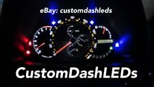 UPDATED White - SPEEDO ONLY KIT Is200 Is300 Altezza LEXUS Custom Dash Led Bulbs