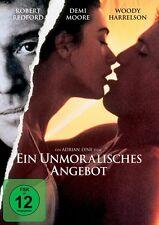 EIN UNMORALISCHES ANGEBOT  DVD NEU DEMI MOORE/WOODY HARRELSON/ROBERT REDFORD/+