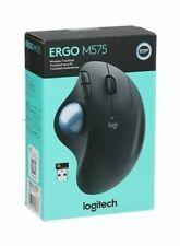 Logitech Ergo M575 Wireless Bluetooth Trackball Mouse Black