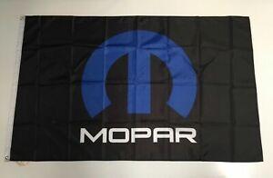 Mopar Style 2 Banner Flag Car Custom Parts Racing Workshop Mechanic Performance