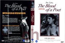 The Blood Of A Poet, Le Sang D'Un Poete (1930)  - Jean Cocteau  DVD NEW