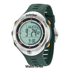 NEW TIMBERLAND WATCH for MEN * Finger Touch Heart Rate *Green 13386JPGNS/01 $269