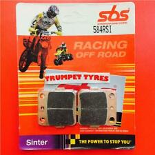 Honda CRM 80 89 > ON SBS Front Off Road Race Sinter Brake Pads OE QUALITY 584RSI