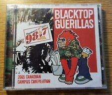 Sealed copy Blacktop Guerillas 2005 Campus Compilation featuring City and Color.