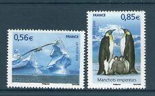 PAIRE 4350-4351 NEUF XX  LUXE - PROTECTION DES POLES MANCHOTS EMPEREURS POUSSIN