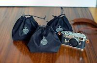 Zhou Suede-fabric Protective bag for Leica Zeiss Rolleiflex Camera accessories