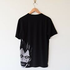 Uniqlo Weekly Jump 50th Graphic T-Shirt Death Note Black Men's Small NEW