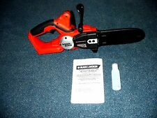 Black Decker CCS818 Chainsaw 18 V olt NO BATTERY Uses HPB18 OPE & #244760-00