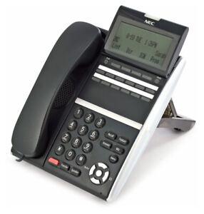 NEC ITZ-12D-3(BK)TEL IZV(XD)W-3Y(BK) DT800 Series IP Phone Black 90 DAY WARRANTY