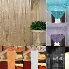 String Curtains Patio Net Fringe for Door Tassel Fly Screen Windows Divider 1*2M